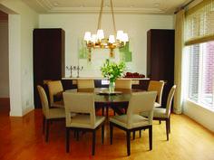 Mercury I Chandelier | Boyd Lighting in dining rooms