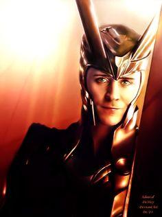 Loki by one of my favorite artists AdmiralDemoy
