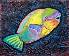 "Parrotfish ""Sea Of Portugal"" Artist Laura Barbosa"