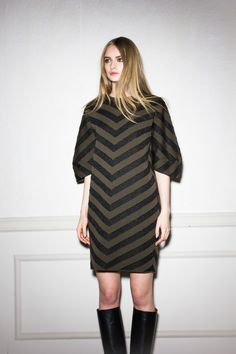 Total look by (NUDE) sweater + skirt from the fall/winter 15 womenswear collection http://www.betosee.com/collection/59155