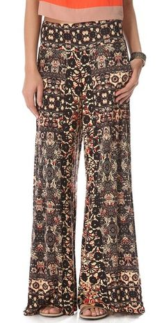 Free People Knit Wide Leg Pants   SHOPBOP