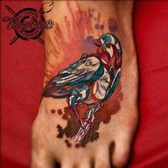 Sivaks peace dove tattoo