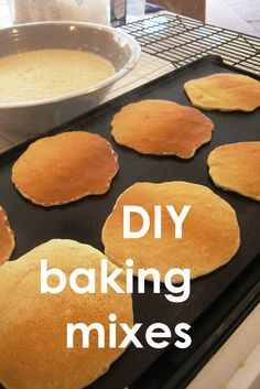DIY Baking Mixes | Good Cheap Eats - don't buy packaged mixes when you can make your own mixes yourself for cheaper. Tastes better, too.   Includes a number of different recipes for homemade mixes.