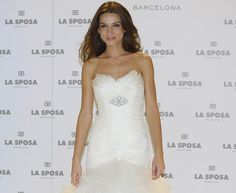 Raquel Jiménez, novia de Bisbal: 'Respeto mucho a Elena Tablada porque es la madre de Ella' #novias #brides #vestidos