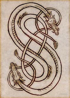 Snakes Of Loki by Cleave. The intertwined snakes of Loki, the god of mischief and illusion. The father of the Midgard Wyrm, Jormurgandr and Fenris Wolf