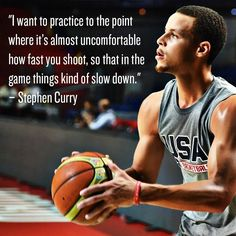 Practice makes perfect. Here's some insight on why Stephen Curry is one of the best shooters that the game has ever seen.