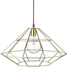 Suspension Pernille Gold Ø 54 - Bloomingville Ceiling Pendant, Pendant Lamp, Pendant Lighting, Ceiling Lights, Suspension Metal, Suspension Design, Color Dorado, Interiors Online, Mini Pendant Lights