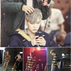 BTS FIRE MV FILMING SKETCH #suga