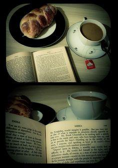 Tea  Jane Austen...