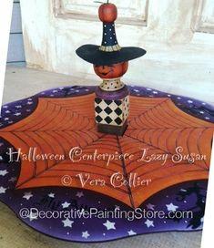 Halloween Centerpiece Lazy Susan Pattern