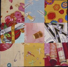 AUNTY HENNYS: FIRST BLOCK - WHIMSICAL FABRIC QUILT ALONG