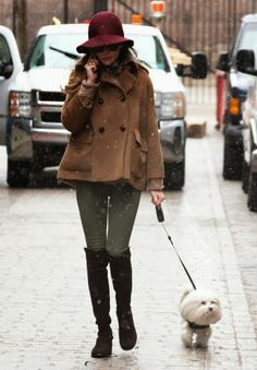 THE OLIVIA PALERMO LOOKBOOK: Throwback Thursday :Olivia Palermo out and about in New York with Mr Butler