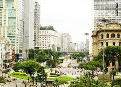 Vale do Anhangabaú - São Paulo, Brasil