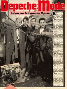 Martin L, Martin Gore, Dave Gahan, Mode Poster, Great Bands, My Music, The Twenties, 1980s, Singers