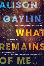 Looking for books like Gillian Flynn's Gone Girl? Check out What Remains of Me by Alison Gaylin.