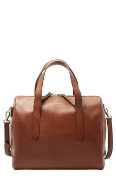 We would love to get a hand(le) on the Sydney satchel from Fossil.
