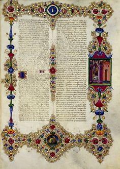 Bible of Borso d'Este - World Digital Library