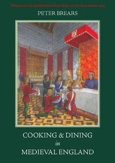 {Cooking and Dining in Medieval England, Peter Brears.} The best book on medieval food I've read so far. It's huge, detailed, filled with the author's illustrations and covers every aspect you can think of. Truly impressive.