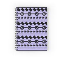 Contemporary Zigzag Design-Blue Spiral Notebook Spiral Notebooks, Custom Design, Contemporary, Holiday Decor, Blue, Home Decor, Bespoke Design, Homemade Home Decor, Decoration Home