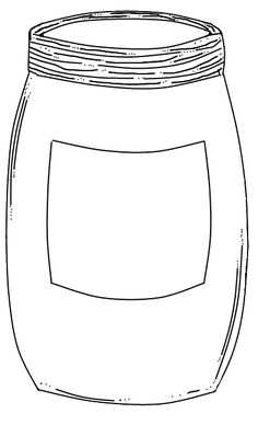 Mason+Jar+with+label.png (398×656)