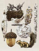 Karen Didion Woodland Glimmer Santa | Balsam Hill  #MyBalsamHillHome