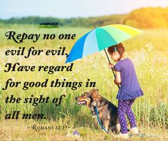 Be merciful and kind!