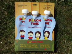 Stocking Stuffer For Baby Pouch Time - Reusable Food Pouch Holiday Gift Guide, Holiday Gifts, Stocking Stuffers For Baby, Make Your Own, How To Make, Practical Gifts, Baby Food Recipes, Pouch, Stockings