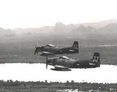 USAF Skyraiders 602nd SOS - DaNang - 1970-71