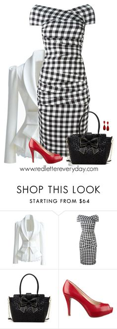 """""""Ready for Spring"""" by rleveryday ❤ liked on Polyvore featuring Dolce&Gabbana, Betsey Johnson, Nine West, Style & Co. and casualoutfit"""
