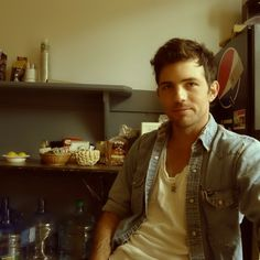 One of the cutest pictures of Scott Avett I've ever seen.