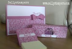 Perfect 'Thank you Teacher' Gifts. Independent Stampin' Up!® Demonstrator UK.