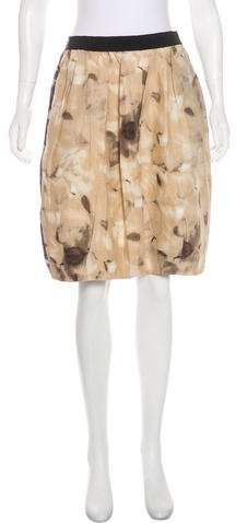 Marni Patterned A-Line Skirt