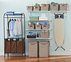 Laundry doesn't have to be a chore when you use storage solutions from BHG, available only at Walmart
