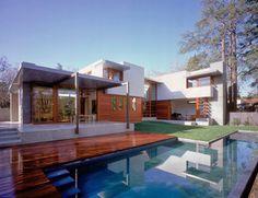 Diseño de Casa Elegante con Madera Design Home por diseñodecasa.blogspot.com