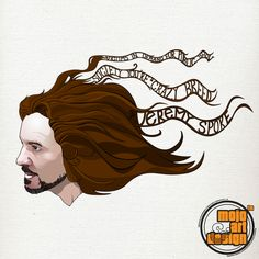 A vectorized print of Eddie Vedder from Pearl Jam. Can be bought in formats to on www.se © copyright/all rights reserved to Mojostore™ and Mojo Art & Design. Eddie Vedder, Pearl Jam, A5, Posters, Fine Art, Canvas, Stuff To Buy, Design, Tela