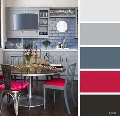 Сочетания цветов для кухни - Дизайн интерьеров   Идеи вашего дома   Lodgers