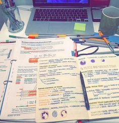 Imagem de study, notes, and school