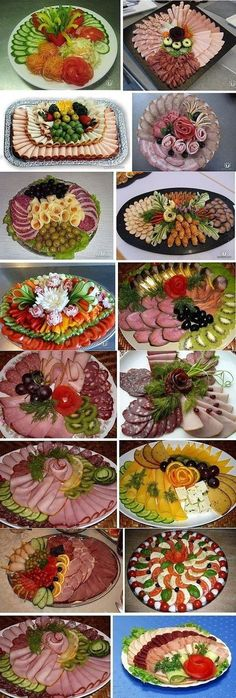 18 Catering Pins to check out - ideas - Buffet Ideen