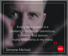Simone Micheli, Segis partner for #DreamHouse 2015. Architect and traveler by profession, as he likes to say, he is always looking for experiences that fill hearts and minds.