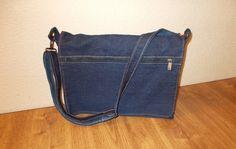Как сшить универсальную сумку из джинсовой ткани