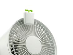 Nendo, airleaf mini air purifier for Mikuni