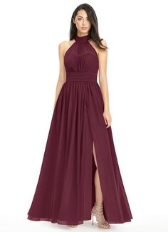 Shop Azazie Bridesmaid Dress - Iman in Chiffon. Find the perfect made-to-order bridesmaid dresses for your bridal party in your favorite color, style and fabric at Azazie.