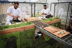Chefs, Farmers, Gardeners, and Designers Create Pop-Up Feast on Interstate Bridge on http://www.urbangardensweb.com