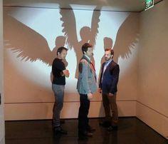 Supernatural. The Angels- Gabriel, Castiel.