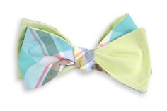 High Cotton | Mint Julep Madras Reversible Bow Tie