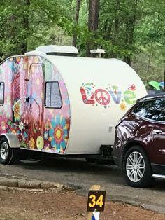 Hippie caravan