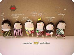 pregadeiras NEW collection by Ha Monstros Debaixo da Cama..., via Flickr