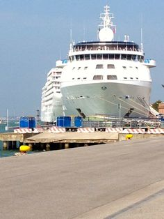Silversea Ships in Venice