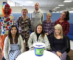 Staff at our head office have raised £120 for Framework by wearing their PJ's to work to kick-start their fundraising for the Big Sleep Out. The 'Best Dressed' award went to the Central Mortgage Team!