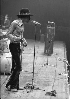 Jimi Hendrix May 31st 1968 At Hallenstadion, Zurich, Switzerland